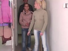 Spectacular Euro Teen Threesome