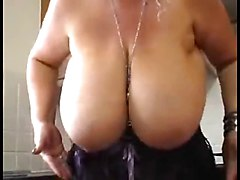 English MILF Hooker Shows Her Big Tits