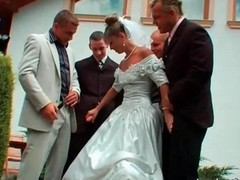 You May Now Gangbang The Bride
