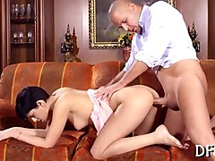 Title: Losing Her Ass Virginity