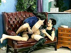 bj brunette fucked in kneehigh boots