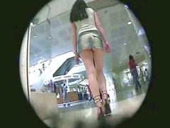 Upskirt In Mall