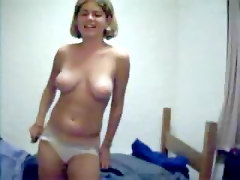 Ex Girlfriend Tracey Stripping