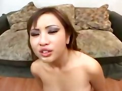 Asian Whore Swallows